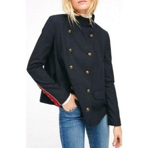 Free People A-Line Military Jacket Size XS
